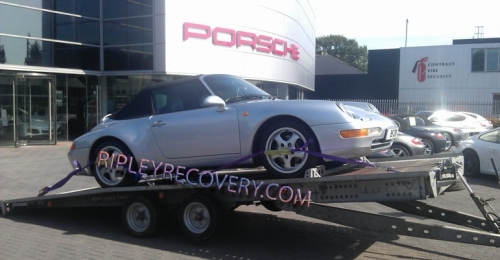 Porsche & low car Trailer