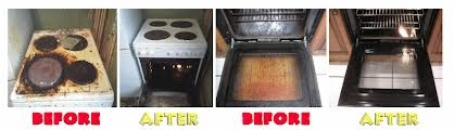 2 Ovens Before And After Cleaning By Clean Tech Oven Cleaning