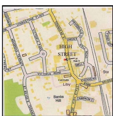 Lockerbie Directions