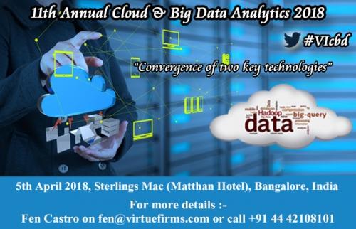 11th Annual Cloud & Big Data Analytics 2018