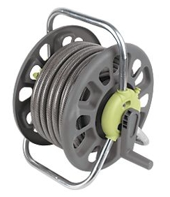 25m Hose and strong reel.