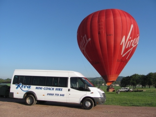 Xtra retrieving Virgin Balloon Passengers