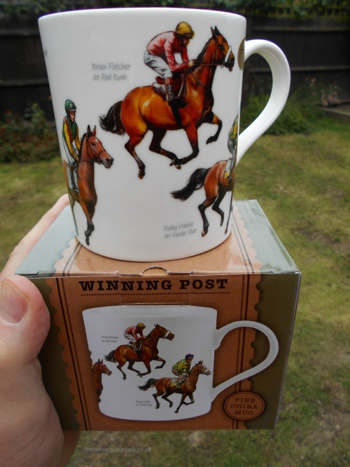 Horse Racing Tea and Coffee Mug