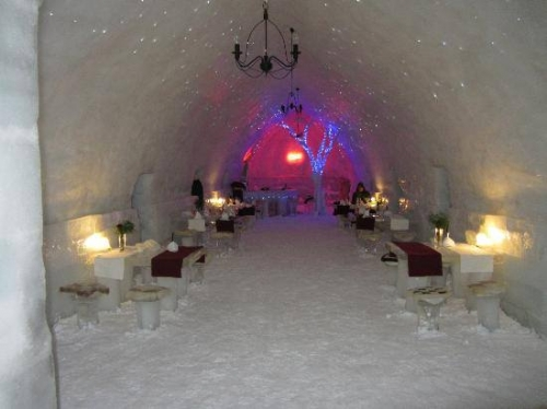 Romania - Ice Hotel - Balea Lake