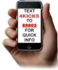 Text 4kicks to 88802 for quick info