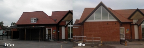 Surrey Primary School before and after
