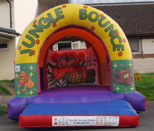 Jungle Arch Bouncy Castle