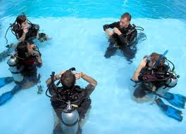 Dive School training, for all the family.