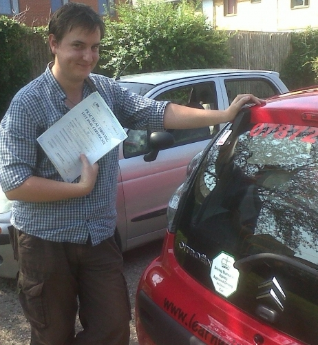 Thomas Thorn passed 1st time