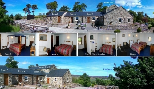 Belle Vue Country Bed and Breakfast Accommodation - Five en-suite rooms.