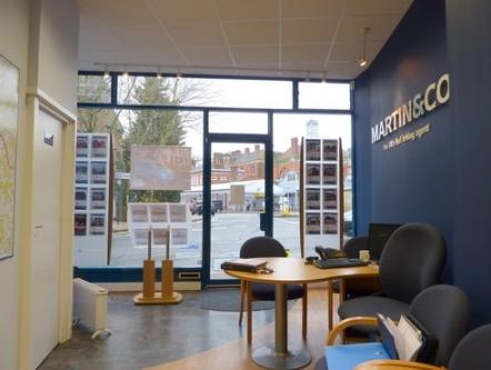 Internal shot of the estate agents in Tunbridge