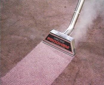 We use a very hot cleaning solution and steam - not luke warm or cold like our competitors