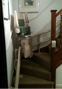 Fantastic top quality used Stairlifts supplied by Newbury Mobility.co.uk
