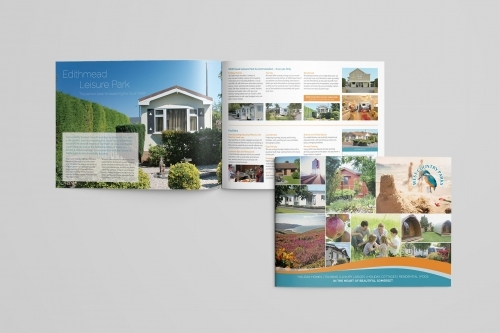 West Country Parks Brochure Design