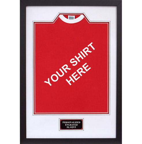 Football shirt framing