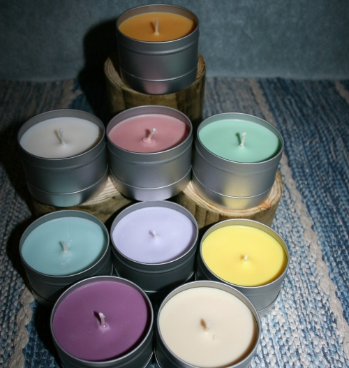 25+ Hour Tin Candle