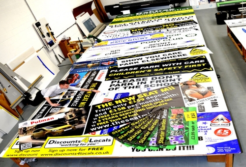 Mail Order Banners