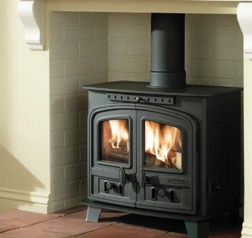 Aarrow Sherborne Medium Multifuel Woodburning Stove
