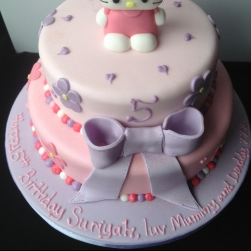 Hello Kitty Tiered Cake