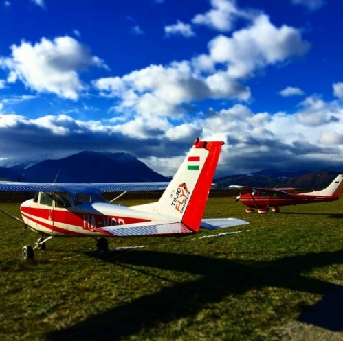 Aerial flights of the Carpathian Mountains
