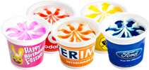 Branded Promotional Ice Cream Tubs