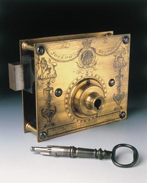 Bramah 1787 Lock