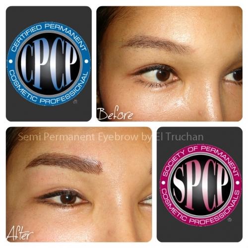 Semi Permenent Eyebrows By El Truchan @ Perfect Definition