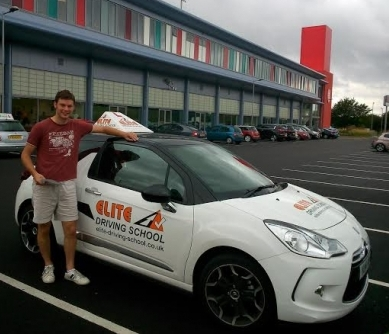 Driving Instructor Hull Joseph Stevenson - Congratulations to Joseph Stevenson for passing her driving test on the 13th of August 2014.