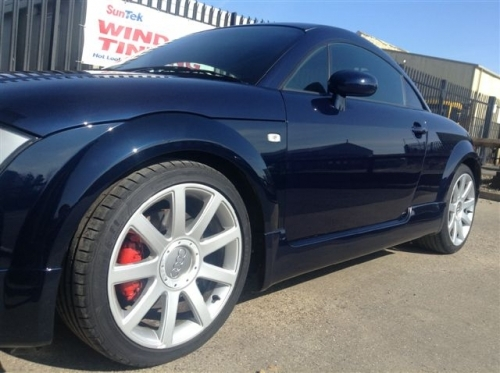 AUDI TT- 3 DAYS WORTH OF DETAILING AND G TECHNIQ APPLIED ALL OVER.