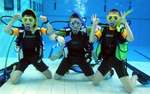 Padi Bubblemakers Team For Kids As Young As 8 Years Old