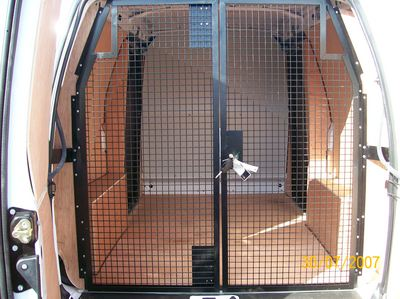 Security Cage for high value loads