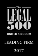 Legal 500 Logo Uk Leading Firm 2017