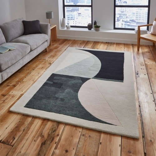 Michelle Collins MC04 Geometric Rug By Think Rugs