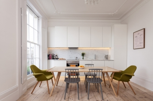 Georgian flat refurbishment in Islington