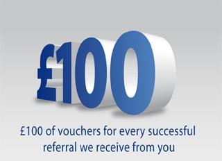 Refer a Friend and Get £ 100