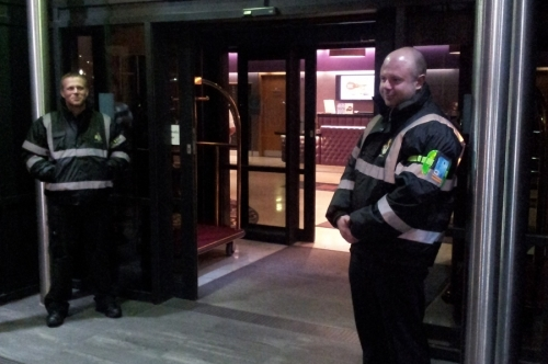 Hotel Security and Guest list management.