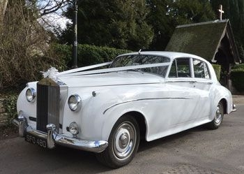 Wedding Car Hire - Silver Cloud Rolls Royce