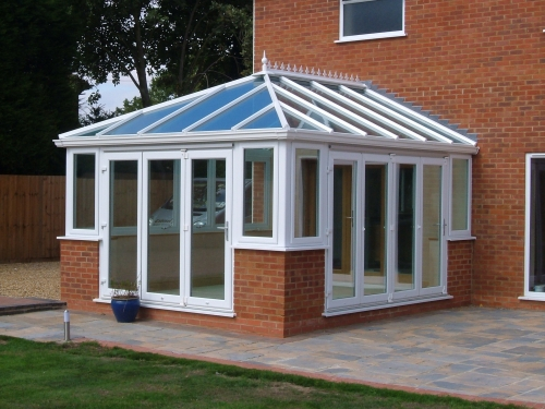 Comfortable all year round conservatories.
