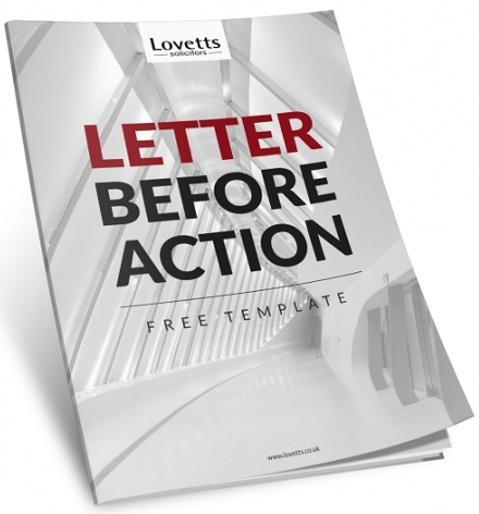 FREE Letter Before Action Template - Download Now!