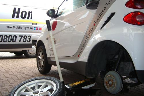 Smart car tyres