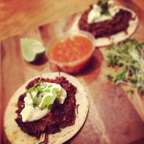 Adobo Beef Tacos