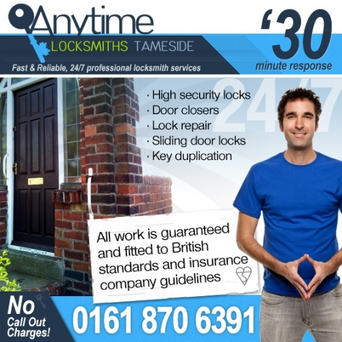 Door lock repair in Tameside
