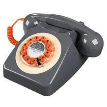 RETRO TELEPHONE 746 in Concrete Grey