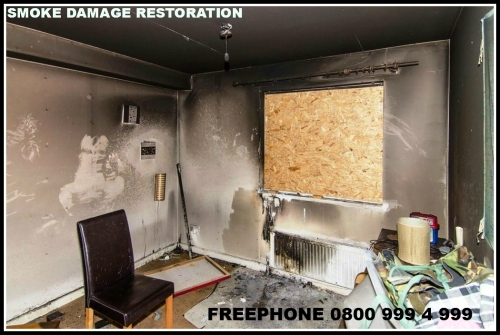 Smoke Damage Restoration