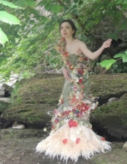 RHS Chelsea 2014 Gold medal winning dress by Jillian Page