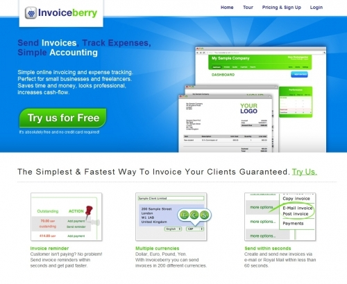 Invoiceberry Screenshot