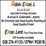 Robin Excell Driving Instructor