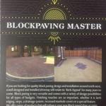 Blockpaving Master