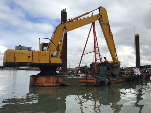 Barge Drilling