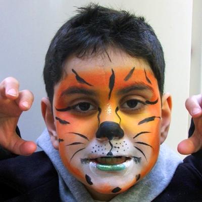 Boys love tigers!